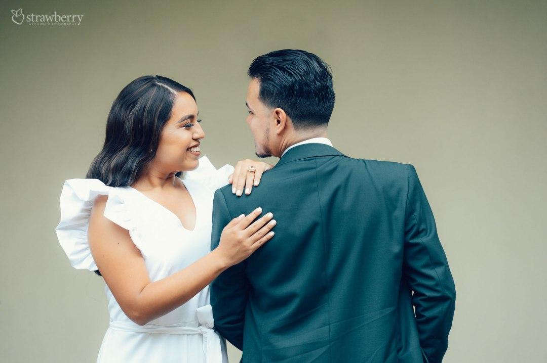 wedding-dress-suit-smile-together