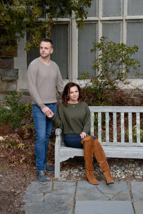 13-engaged-couple-garden-bench.jpg